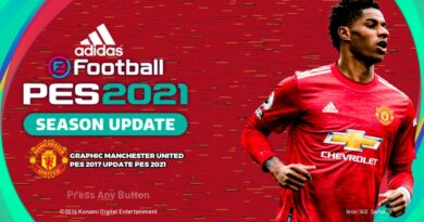 PES 2017 | NEW MANCHESTER UNITED GRAPHIC MENU 2021 | DOWNLOAD & INSTALL