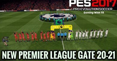 PES 2017 | NEW PREMIER LEAGUE GATE 20-21 | DOWNLOAD & INSTALL