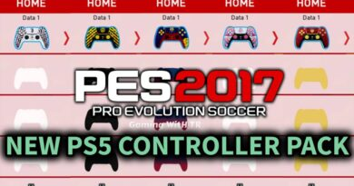 PES 2017 | NEW PS5 CONTROLLER PACK | DOWNLOAD & INSTALL