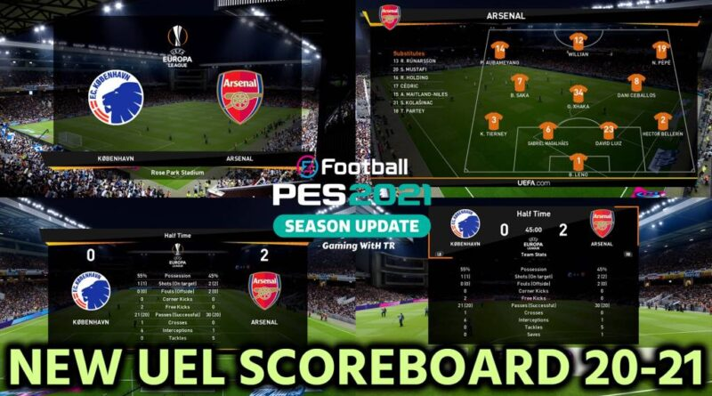 PES 2021 | NEW UEL SCOREBOARD 20-21 | DOWNLOAD & INSTALL