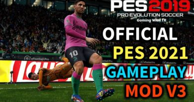 PES 2019 | OFFICIAL PES 2021 GAMEPLAY MOD V3 | DOWNLOAD & INSTALL
