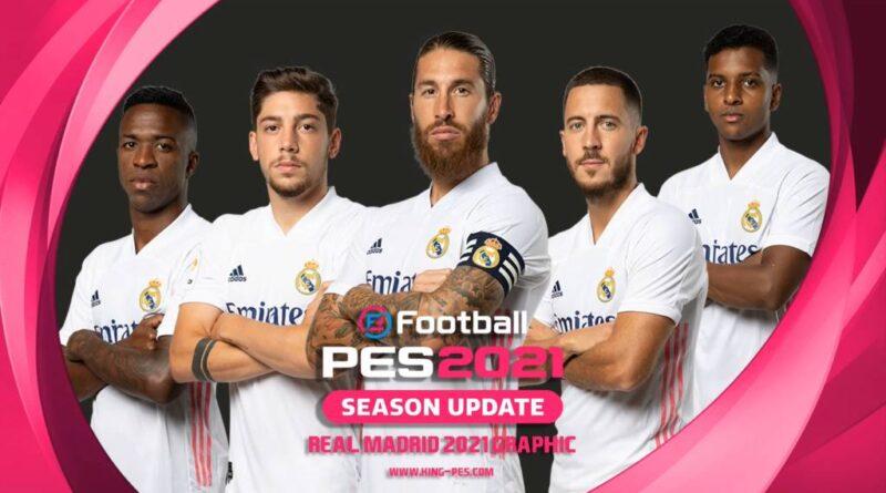 PES 2017   REAL MADRID   PES 2021 GRAPHIC MENU   DOWNLOAD & INSTALL