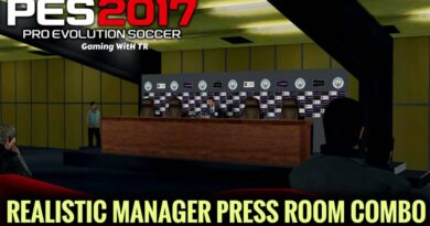 PES 2017   REALISTIC MANAGER PRESS ROOM COMBO   DOWNLOAD & INSTALL