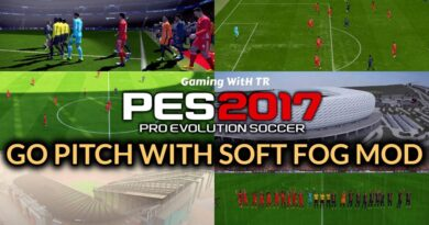 PES 2017 | GO PITCH WITH SOFT FOG MOD | DOWNLOAD & INSTALL