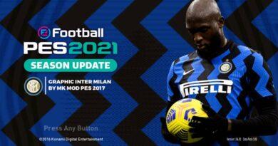 PES 2017   INTER MILAN GRAPHIC MENU 2021   DOWNLOAD & INSTALL