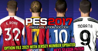 PES 2017 | LATEST OPTION FILE 2021 WITH JERSEY NUMBER UPDATED | NEXT SEASON PATCH | DOWNLOAD & INSTALL