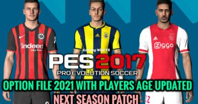 PES 2017 | LATEST OPTION FILE 2021 WITH PLAYERS AGE UPDATED | NEXT SEASON PATCH | DOWNLOAD & INSTALL