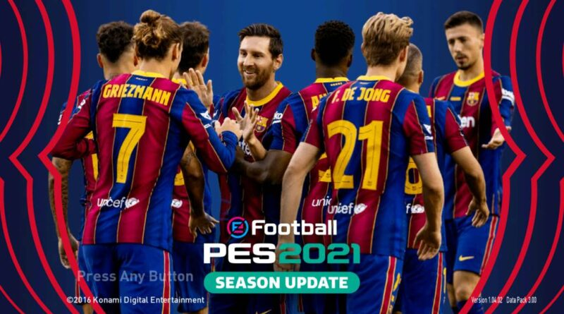 PES 2017 | NEW BARCELONA GRAPHIC MENU 2021 | DOWNLOAD & INSTALL