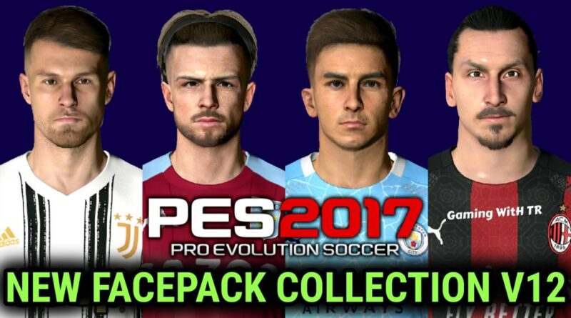 PES 2017 | NEW FACEPACK COLLECTION V12 | DOWNLOAD & INSTALL
