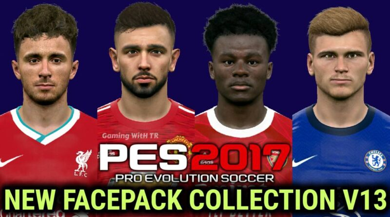 PES 2017 | NEW FACEPACK COLLECTION V13 | DOWNLOAD & INSTALL