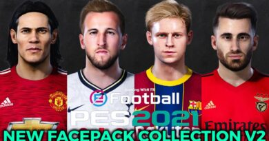 PES 2021   NEW FACEPACK COLLECTION V2   DOWNLOAD & INSTALL