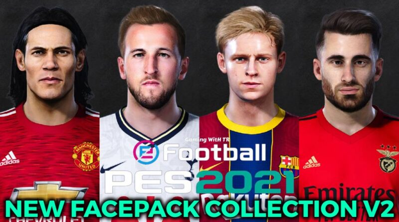 PES 2021 | NEW FACEPACK COLLECTION V2 | DOWNLOAD & INSTALL