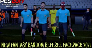 PES 2017 | NEW FANTASY RANDOM REFEREE FACEPACK 2021 | ALL IN ONE | DOWNLOAD & INSTALL