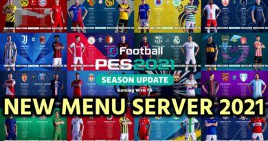 PES 2021 | NEW MENU SERVER 2021 | DOWNLOAD & INSTALL