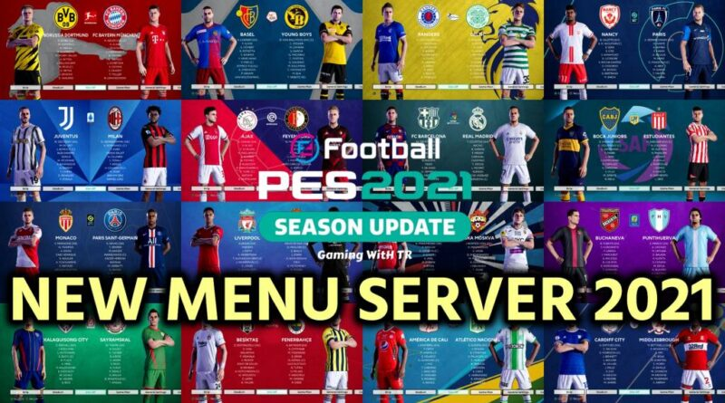 PES 2021 | NEW MENU SERVER 2021 | DOWNLOAD & INSTALL