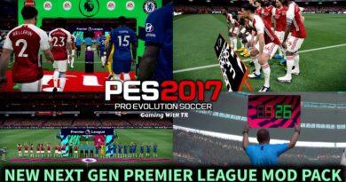 PES 2017 | NEW NEXT GEN PREMIER LEAGUE MOD PACK | DOWNLOAD & INSTALL