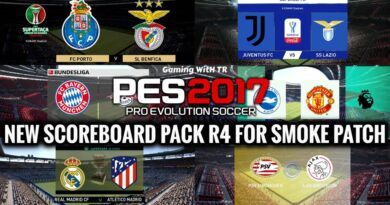 PES 2017 | NEW SCOREBOARD PACK R4 FOR SMOKE PATCH | DOWNLOAD & INSTALL