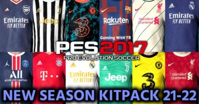 PES 2017   NEW SEASON KITPACK 21-22   UNOFFICIAL VERSION   DOWNLOAD & INSTALL