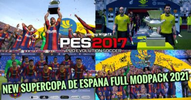 PES 2017 | NEW SUPERCOPA DE ESPANA FULL MODPACK 2021 | DOWNLOAD & INSTALL