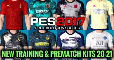 PES 2017 | NEW TRAINING & PREMATCH KITS 20-21 | DOWNLOAD & INSTALL