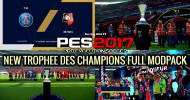 PES 2017 | NEW TROPHEE DES CHAMPIONS FULL MODPACK |DOWNLOAD & INSTALL