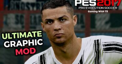 PES 2017 | ULTIMATE GRAPHIC MOD | COMBO PACK OF 4 MODS | DOWNLOAD & INSTALL