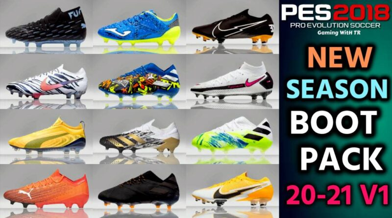 PES 2018 | NEW SEASON BOOTPACK 20-21 V1 BY TISERA09 | DOWNLOAD & INSTALL