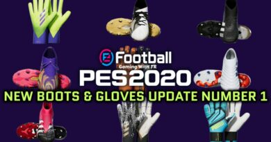 PES 2020 | NEW BOOTS & GLOVES UPDATE NUMBER 1 BY TISERA09 | DOWNLOAD & INSTALL