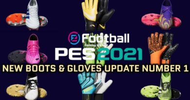 PES 2021 | NEW BOOTS & GLOVES UPDATE NUMBER 1 BY TISERA09 | DOWNLOAD & INSTALL