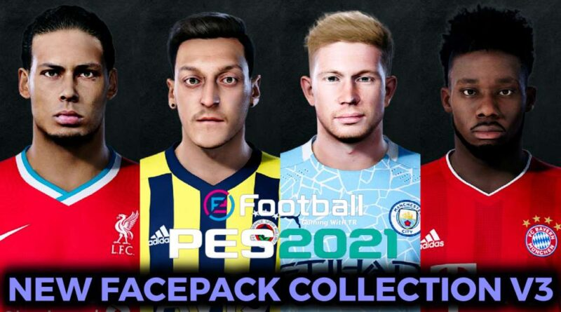 PES 2021 | NEW FACEPACK COLLECTION V3 | DOWNLOAD & INSTALL