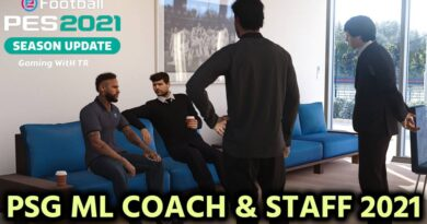 PES 2021 | PSG ML COACH & STAFF 2021 | DOWNLOAD & INSTALL