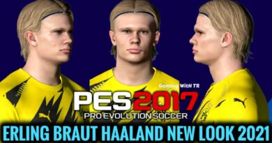 PES 2017 | ERLING BRAUT HAALAND | NEW LOOK 2021 & NEW FACE | DOWNLOAD & INSTALL