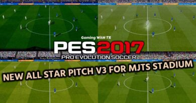 PES 2017   NEW ALL STAR PITCH V3 FOR MJTS STADIUM   DOWNLOAD & INSTALL