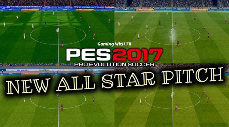 PES 2017 | NEW ALL STAR PITCH X YRF V11 | DOWNLOAD & INSTALL
