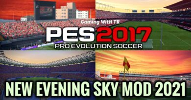 PES 2017 | NEW EVENING SKY MOD 2021 | DOWNLOAD & INSTALL