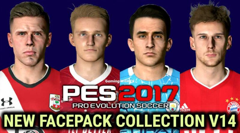 PES 2017 | NEW FACEPACK COLLECTION V14 | DOWNLOAD & INSTALL