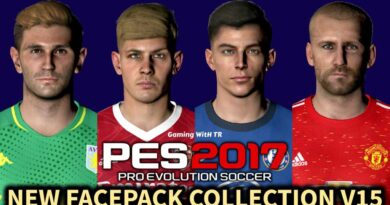 PES 2017   NEW FACEPACK COLLECTION V15   DOWNLOAD & INSTALL