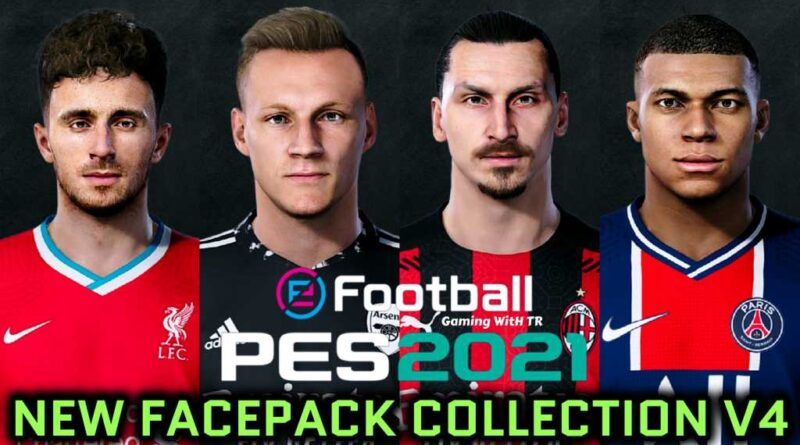 PES 2021 | NEW FACEPACK COLLECTION V4 | DOWNLOAD & INSTALL