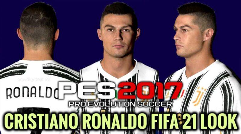 PES 2017 | CRISTIANO RONALDO | FIFA 21 LOOK | DOWNLOAD & INSTALL