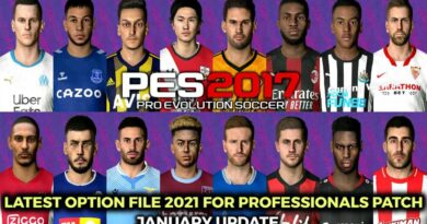 PES 2017   LATEST OPTION FILE 2021   PROFESSIONALS PATCH   JANUARY UPDATE   DOWNLOAD & INSTALL