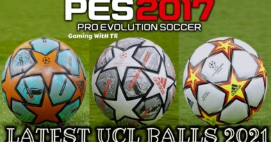 PES 2017 | LATEST UCL BALLS 2021 | DOWNLOAD & INSTALL