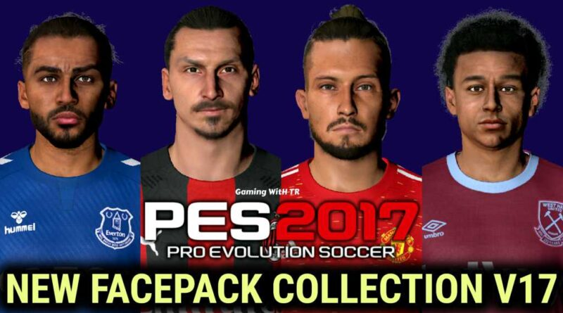 PES 2017 | NEW FACEPACK COLLECTION V17 | DOWNLOAD & INSTALL