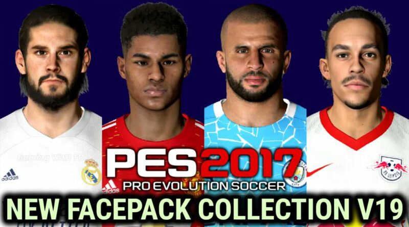 PES 2017 | NEW FACEPACK COLLECTION V19 | DOWNLOAD & INSTALL
