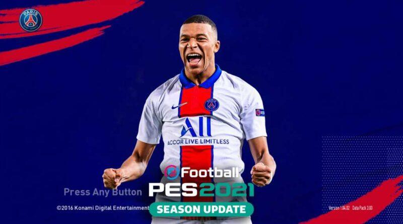 PES 2017   NEW PSG GRAPHIC MENU 2021   DOWNLOAD & INSTALL