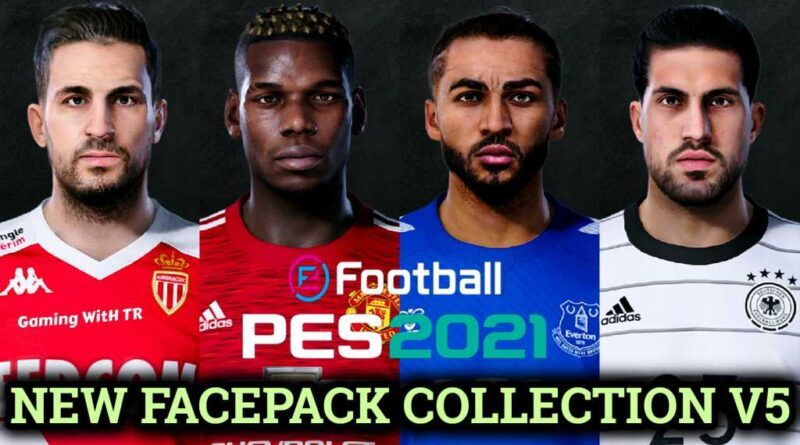 PES 2021 | NEW FACEPACK COLLECTION V5 | DOWNLOAD & INSTALL