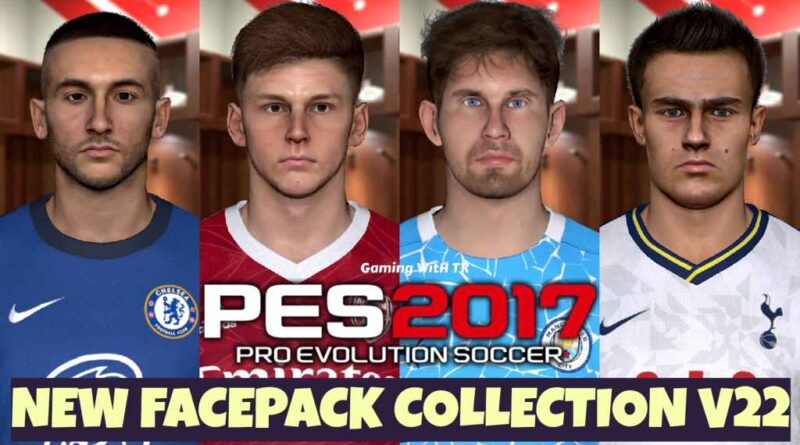 PES 2017 | NEW FACEPACK COLLECTION V22 | DOWNLOAD & INSTALL
