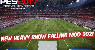 PES 2017 | NEW HEAVY SNOW FALLING MOD 2021 | DOWNLOAD & INSTALL
