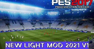 PES 2017   NEW LIGHT MOD 2021 V1   DOWNLOAD & INSTALL