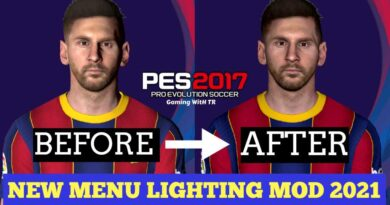 PES 2017 | NEW MENU LIGHTING MOD 2021 | DOWNLOAD & INSTALL