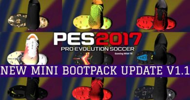 PES 2017 | NEW MINI BOOTPACK UPDATE V1.1 | DOWNLOAD & INSTALL